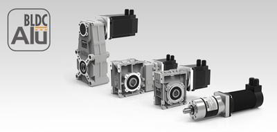 Мотор-редукторы с бесколлекторными двигателями Alu BLDC