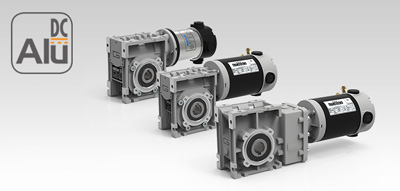 Мотор-редукторы постоянного тока Alu DC