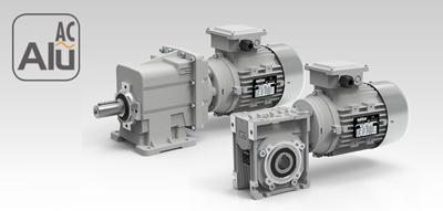 Мотор-редуктори змінного струму серії Alu AC