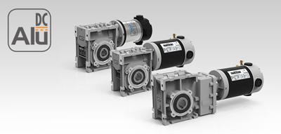 Мотор-редуктори постійного струму Alu DC
