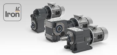 Мотор-редуктори серії Iron AC